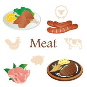 お肉もだいじ。